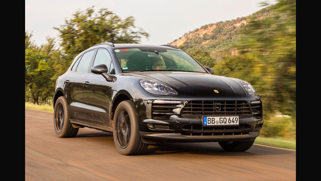 Porsche Macan Facelift (2018) Erprobungsfahrt