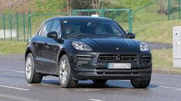 Porsche Macan Facelift Erlkönig