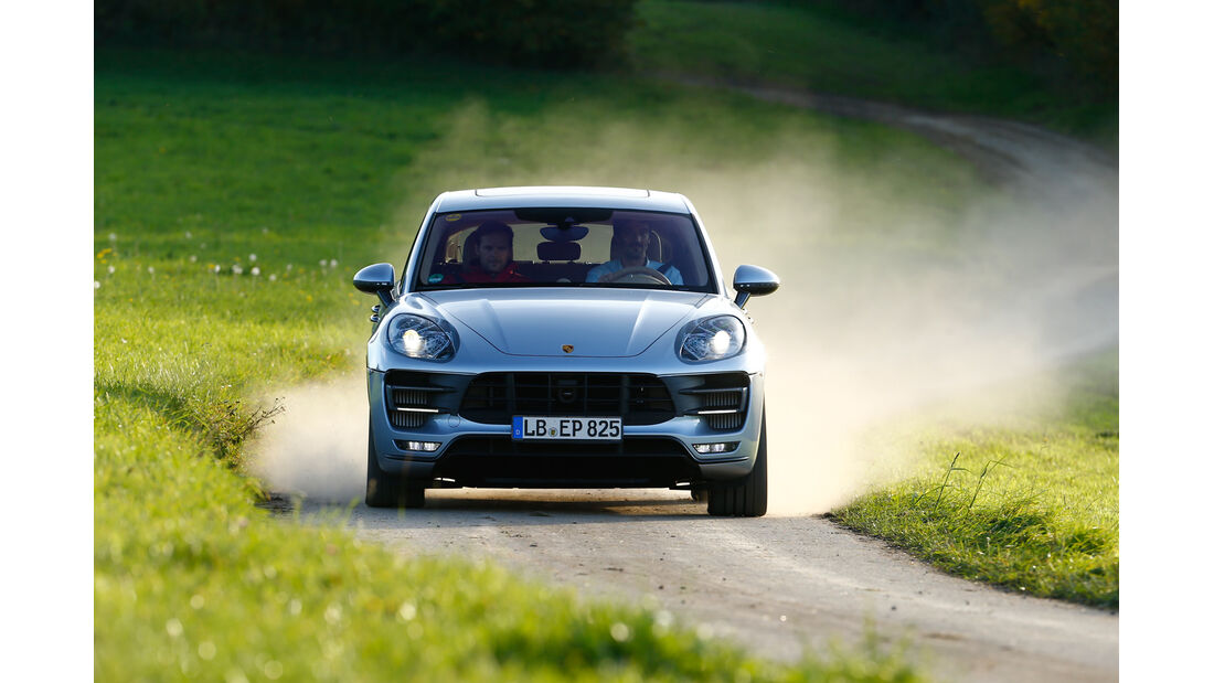 Porsche Macan, Frontansicht