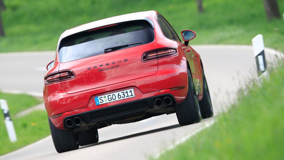 Porsche Macan GTS, Heckansicht