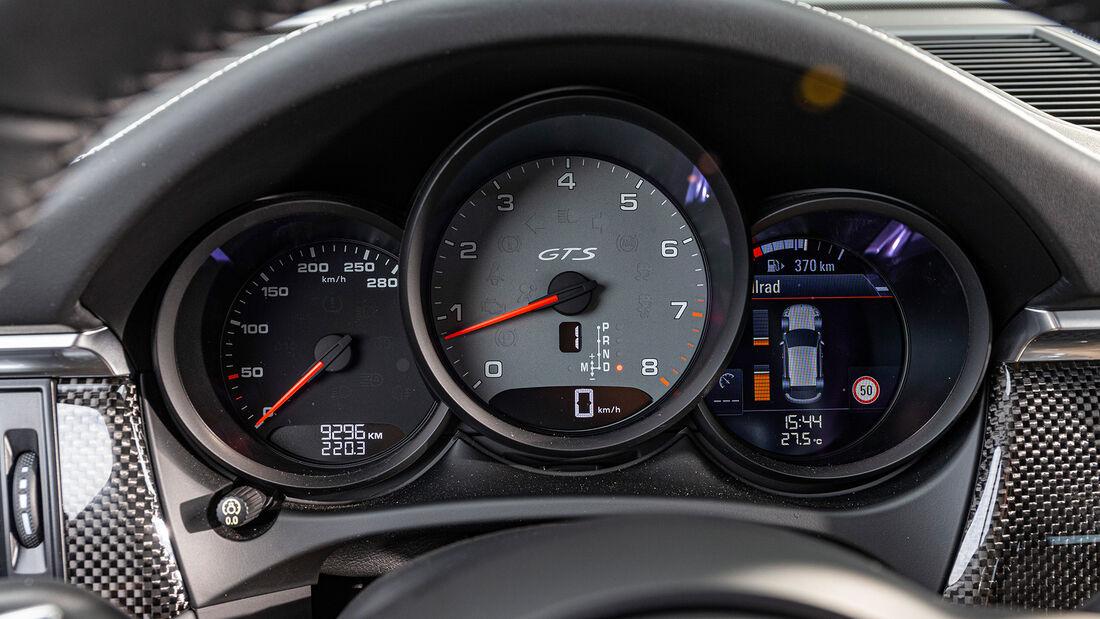 Porsche Macan GTS, Interieur