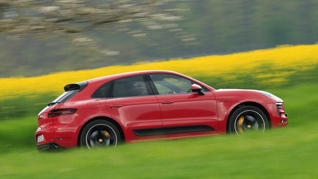 Porsche Macan GTS, Seitenansicht