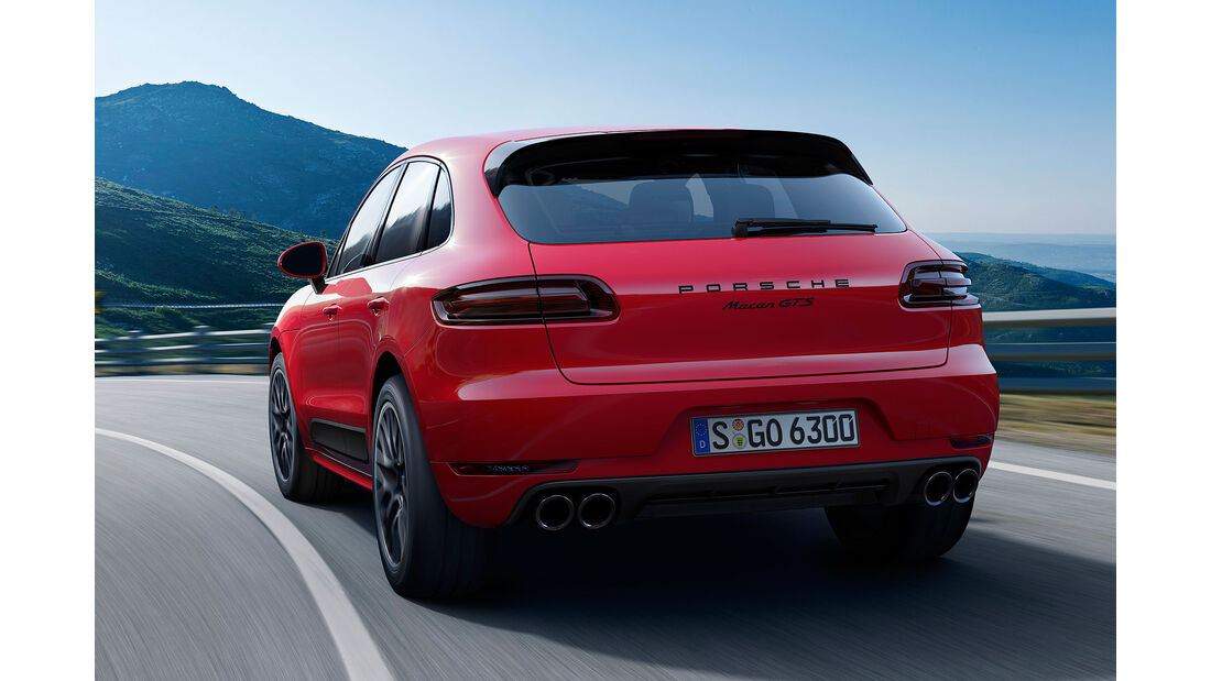 Porsche Macan GTS Sperrfrist 28.10.
