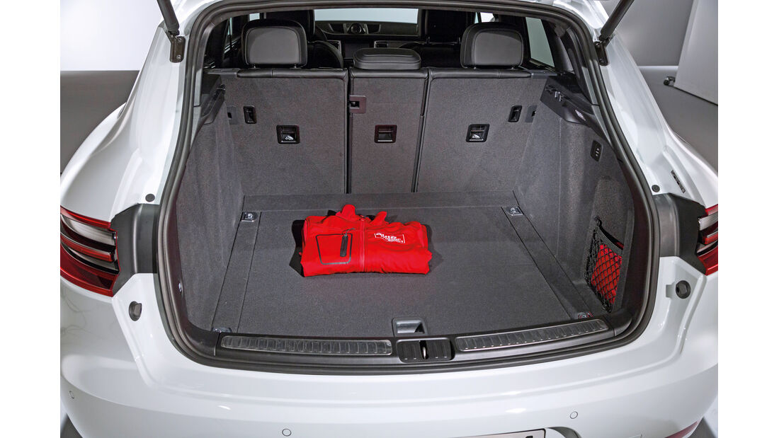 Porsche Macan, Kofferraum