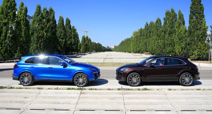 Kaufberatung Porsche Macan Und Cayenne Auto Motor Und Sport