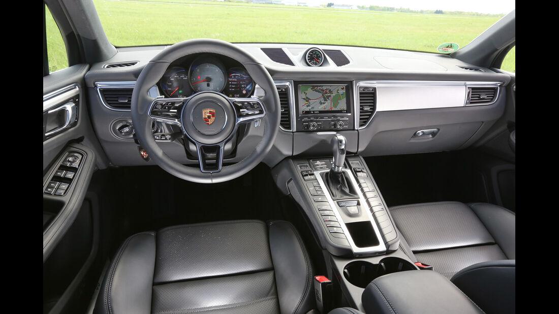 Porsche Macan S Diesel, Cockpit