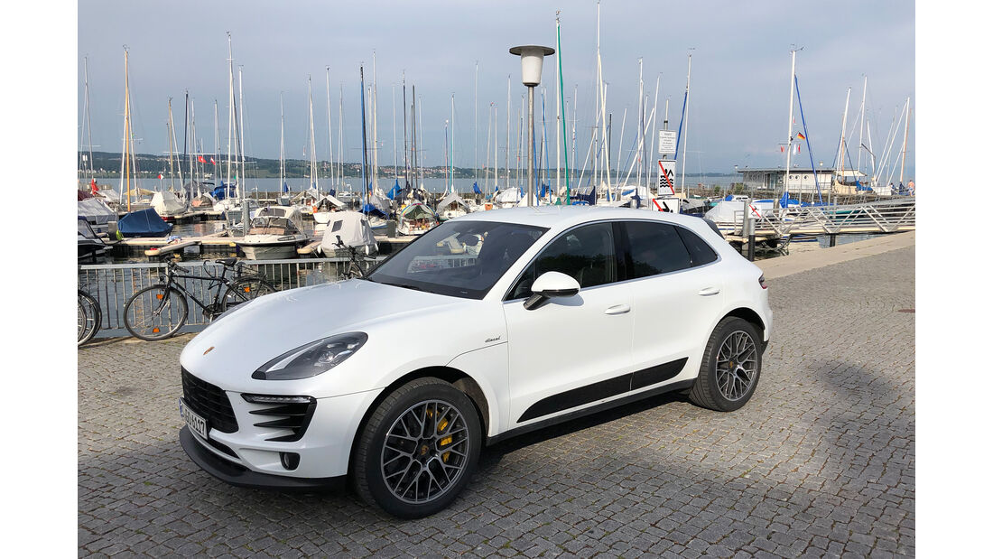 Porsche Macan S Diesel, Exterieur