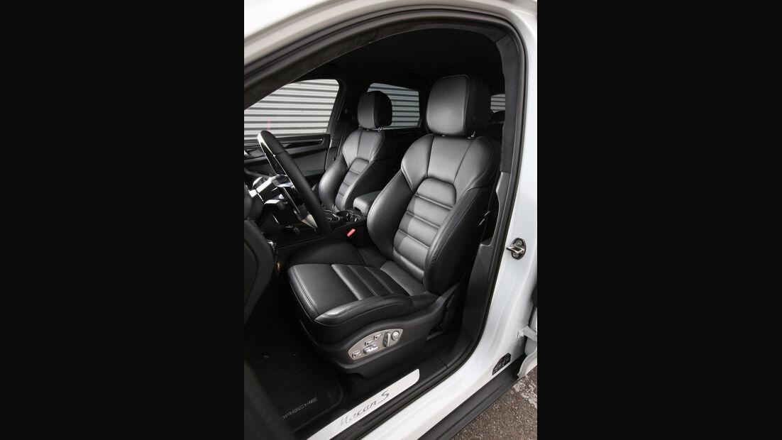 Porsche Macan S Diesel, Fahrersitz