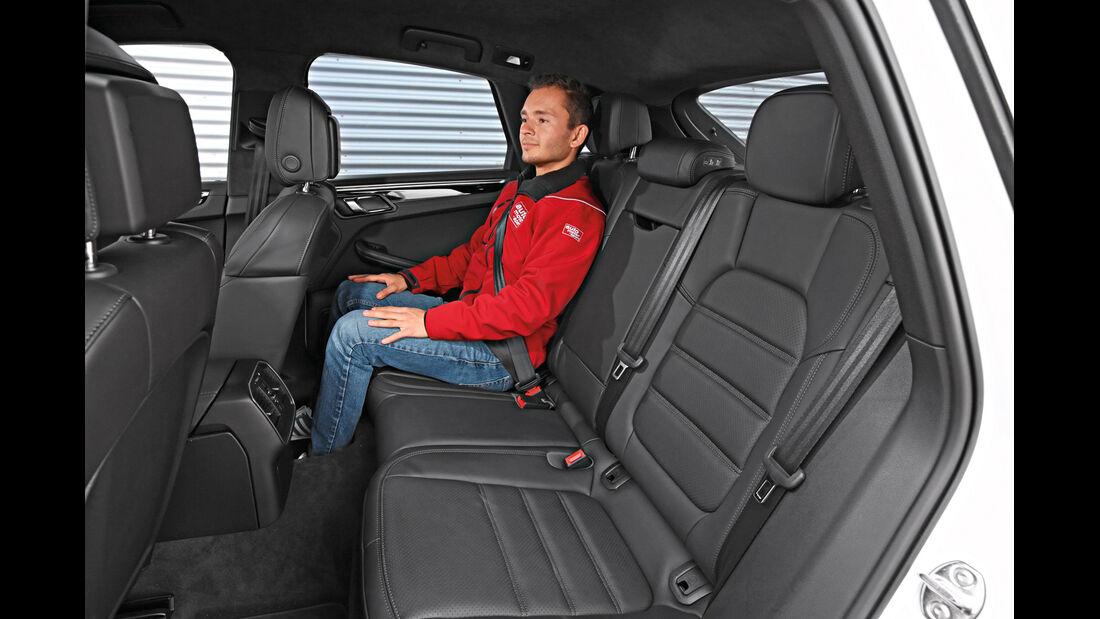 Porsche Macan S Diesel, Fondsitz, Beinfreiheit