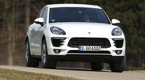 Porsche Macan S Diesel, Frontansicht