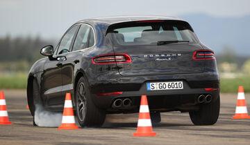 Porsche Macan Gegen Audi Q5 Und Mercedes Glk Der Neue Gegen Das