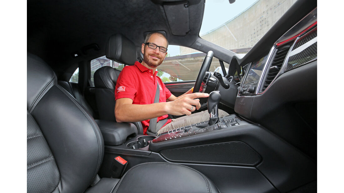 Porsche Macan S Diesel, Interieur