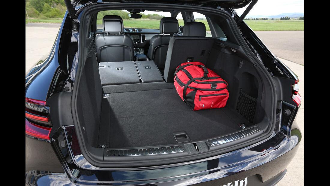 Porsche Macan S Diesel, Kofferraum