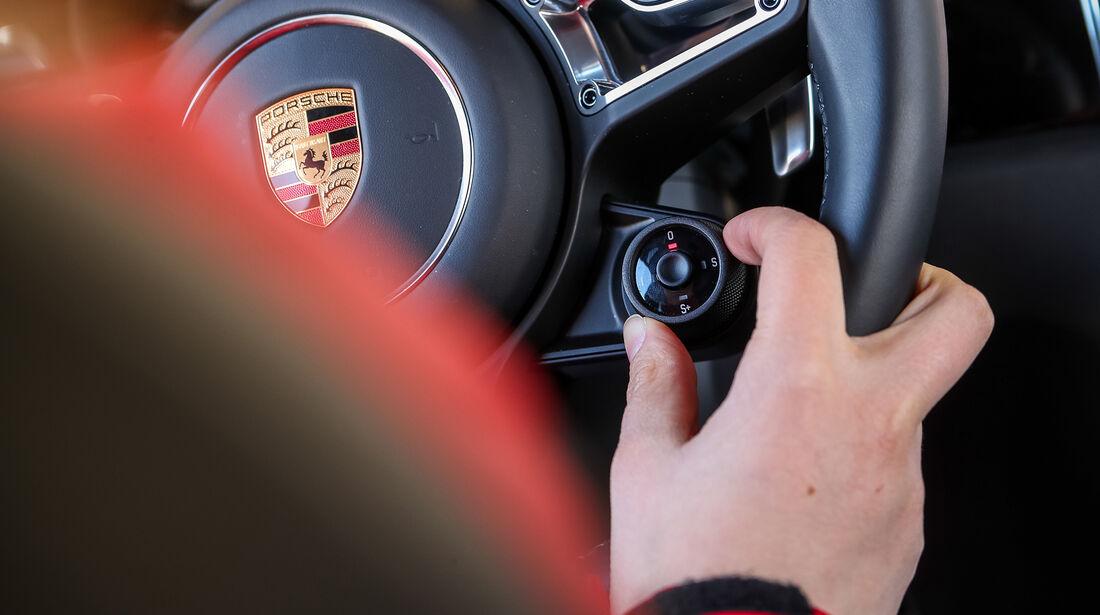 Porsche Macan S, Interieur