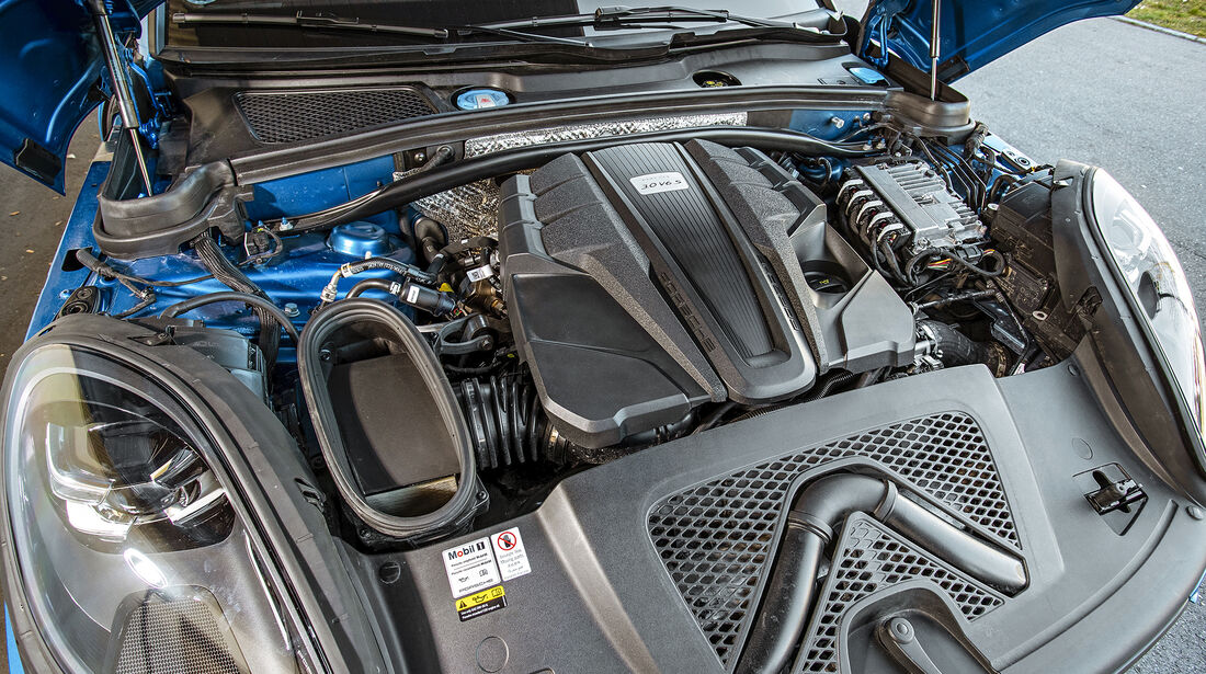 Porsche Macan S, Motor