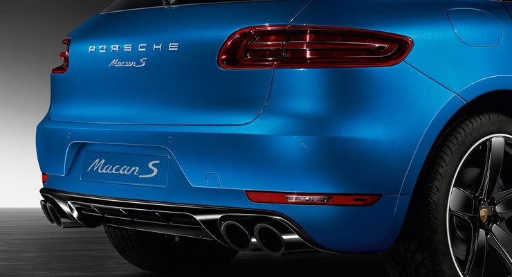 Porsche Macan S - Nachrüstung - Individualisierung - Porsche Exclusive - Tequipment - Heck