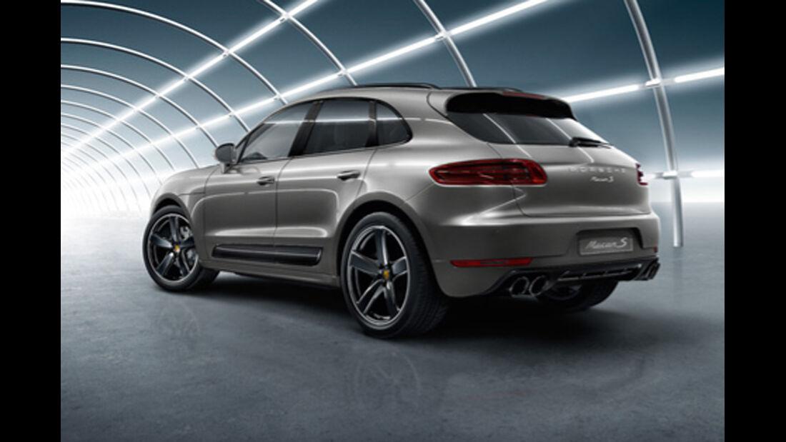 Porsche Macan S - Nachrüstung - Individualisierung - Porsche Exclusive - Tequipment - Seitenschweller