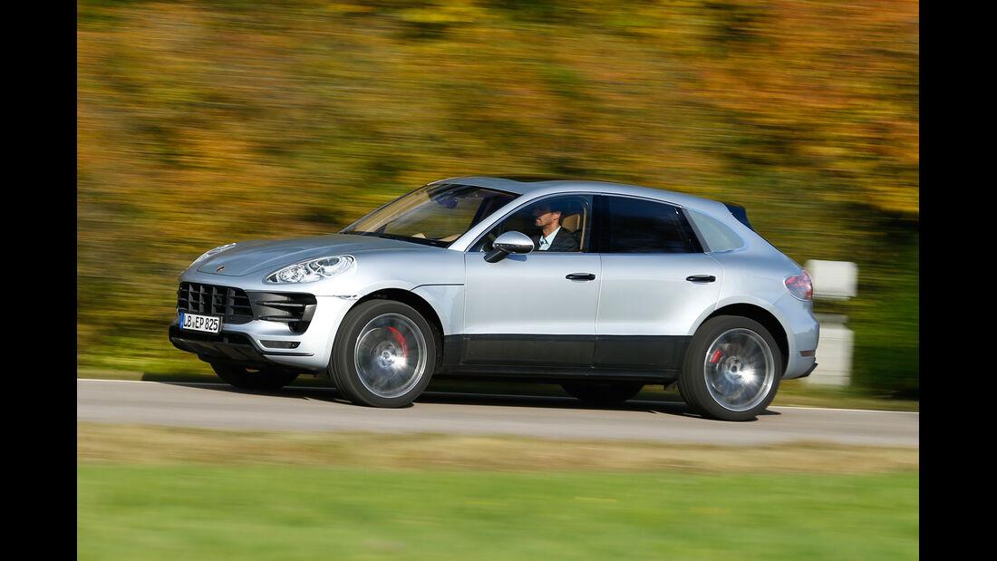 Porsche Macan, Seitenansicht