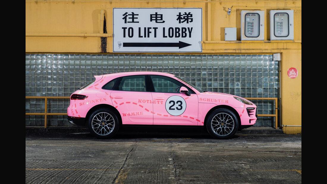 Porsche Macan Sonderlackierungen