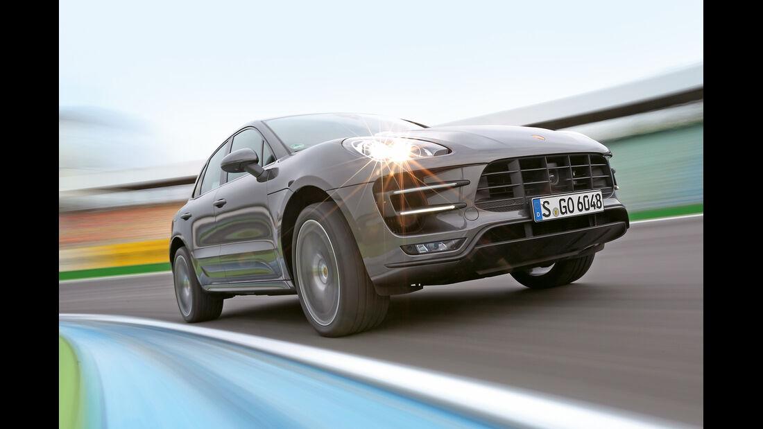 Porsche Macan Turbo, Frontansicht