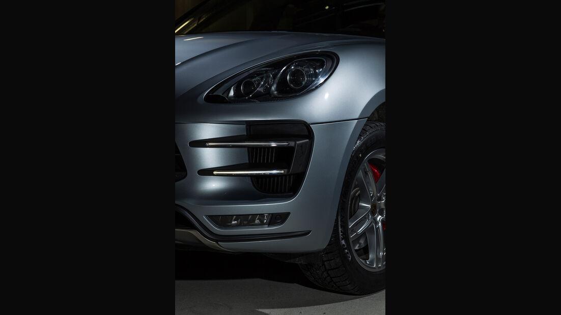 Porsche Macan Turbo, Frontscheinwerfer