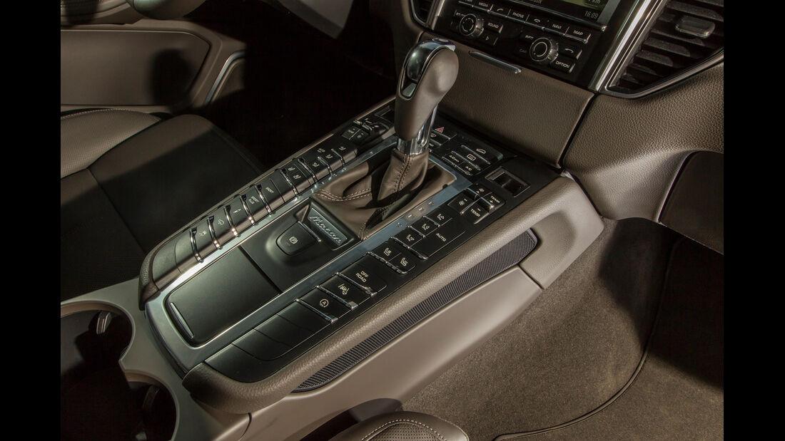 Porsche Macan Turbo, Schalthebel