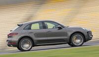 Porsche Macan Turbo, Seitenansicht
