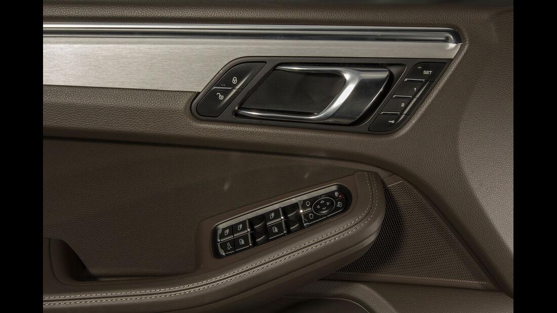 Porsche Macan Turbo, Türöffner, Bedienelemente