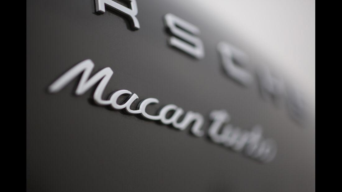 Porsche Macan Turbo, Typenbezeichnung