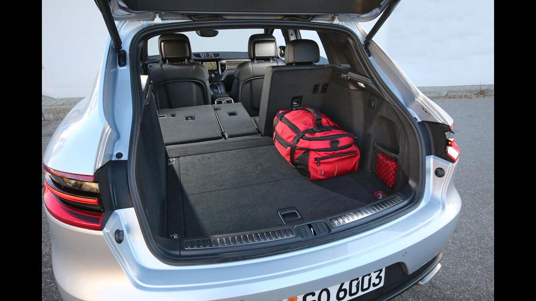 Porsche Macen, Kofferraum