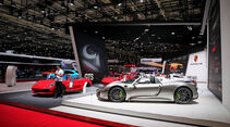 Porsche: Messestand Pariser Autosalon 2018