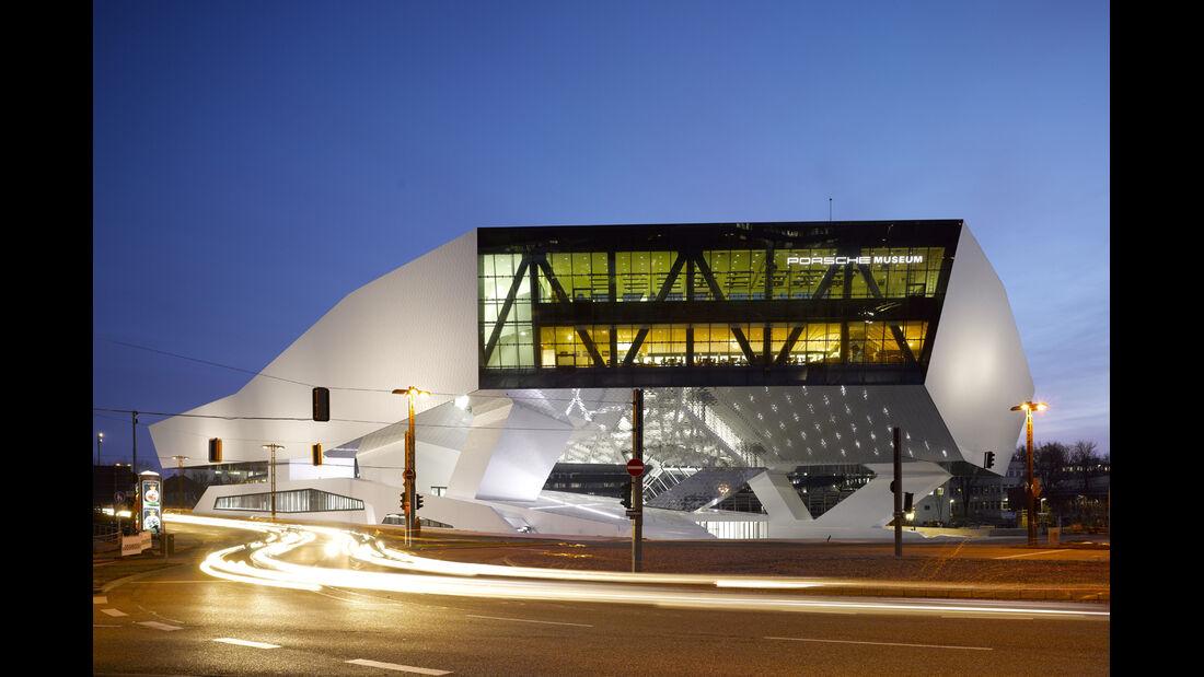 Porsche-Museum, Gebäude