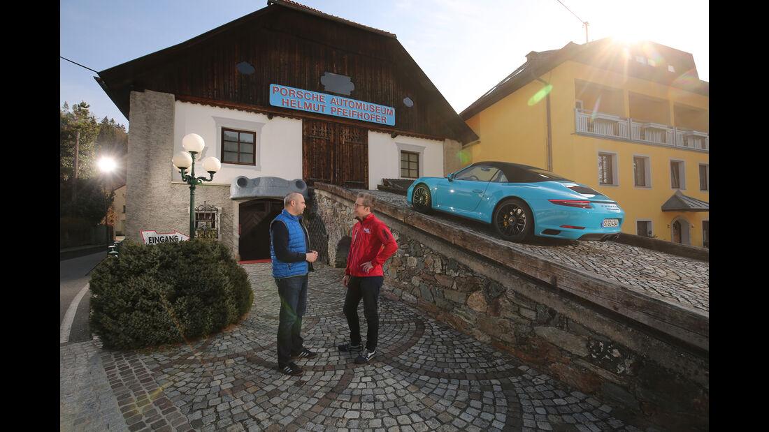 Porsche-Museum in Gmünd