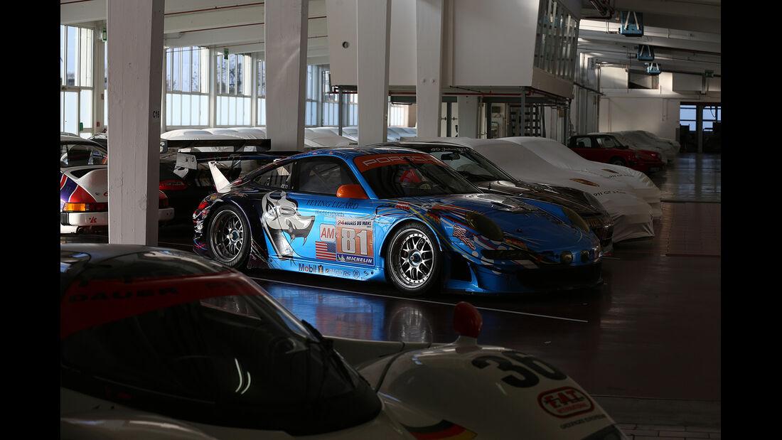 Porsche Museumslager