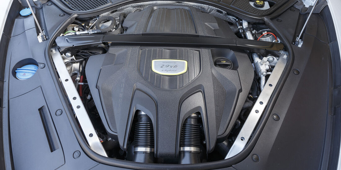 Porsche Panamera 4 E-Hybrid, Motor