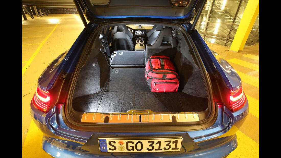 Porsche Panamera 4S Diesel, Kofferraum