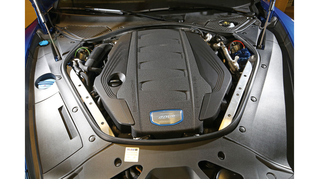 Porsche Panamera 4S Diesel, Motor