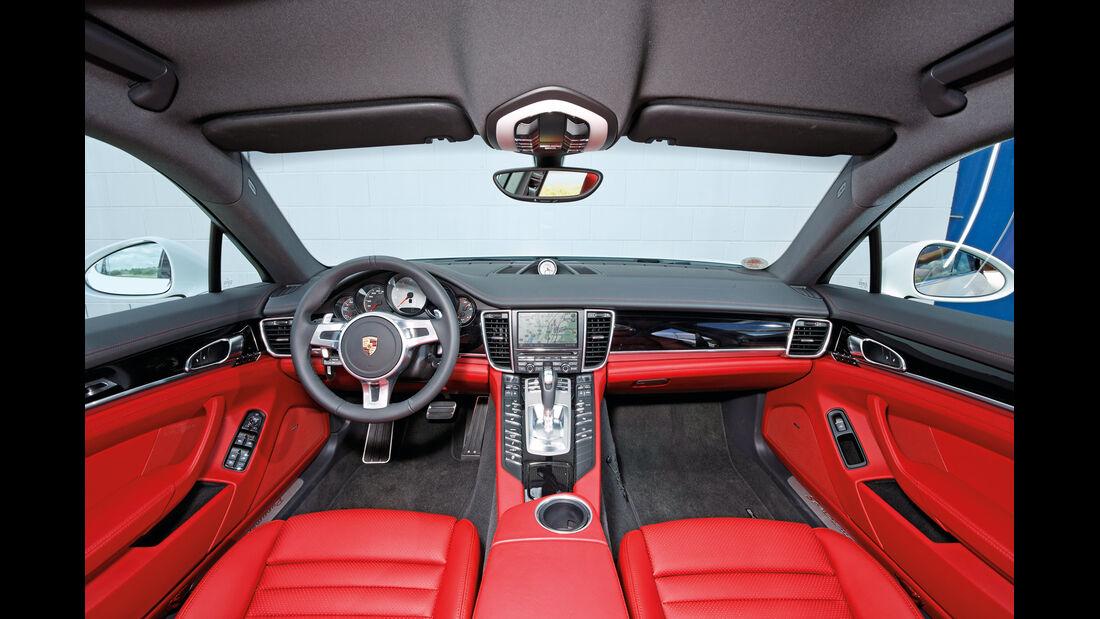 Porsche Panamera 4S, Innenraum