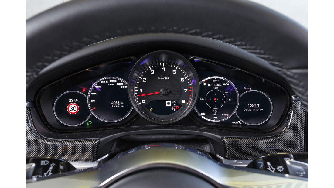 Porsche Panamera 4S, Interieur