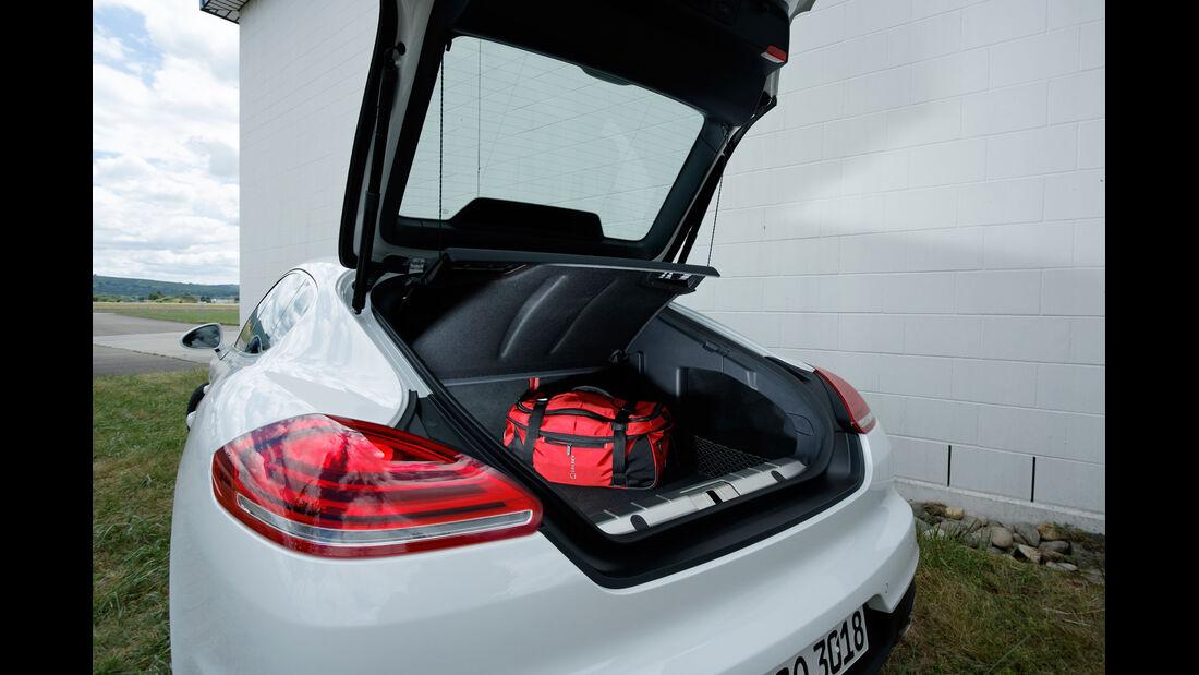 Porsche Panamera 4S, Kofferraum