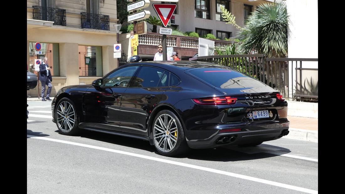 Porsche Panamera - Carspotting - GP Monaco 2018