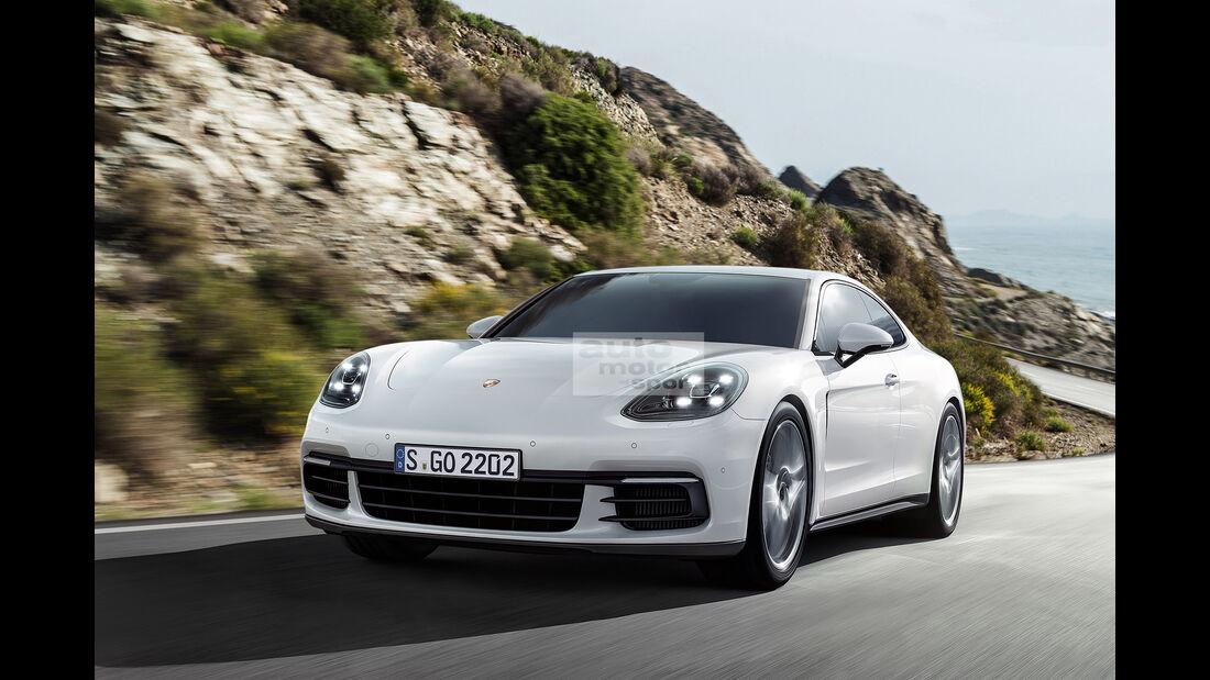 Porsche Panamera Coupé