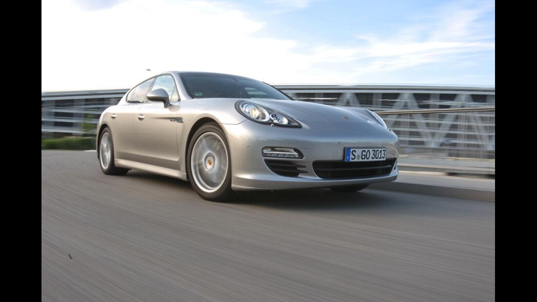 Porsche Panamera D, Frontansicht