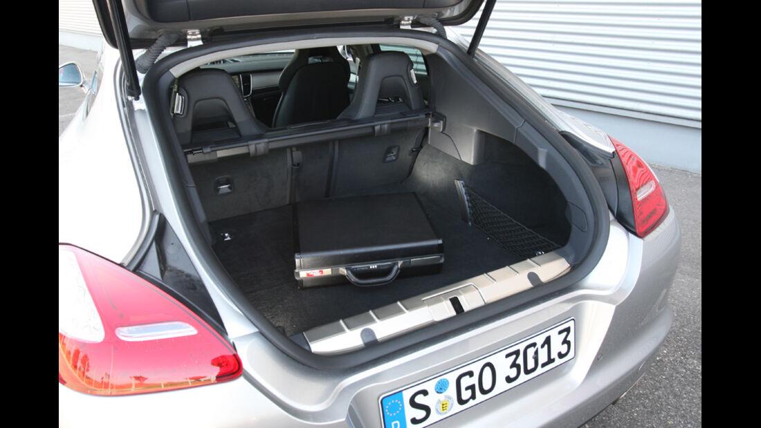 Porsche Panamera D, Kofferraum