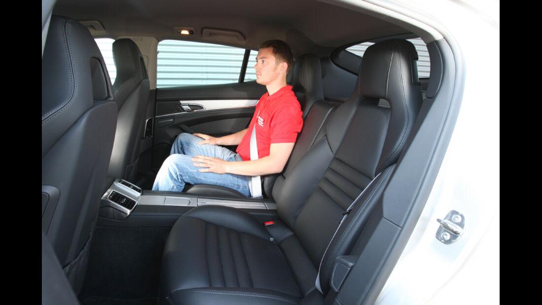 Porsche Panamera D, RŸckbank
