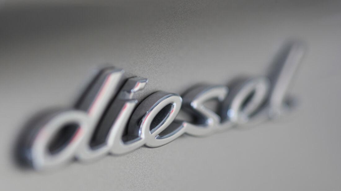 Porsche Panamera D, Schriftzug, Diesel