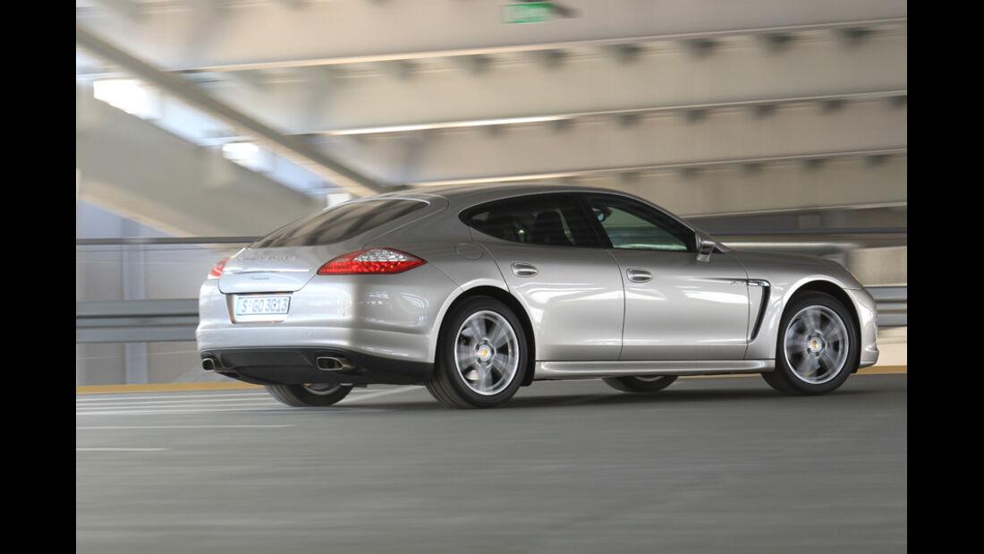 Porsche Panamera D, Seitenansicht