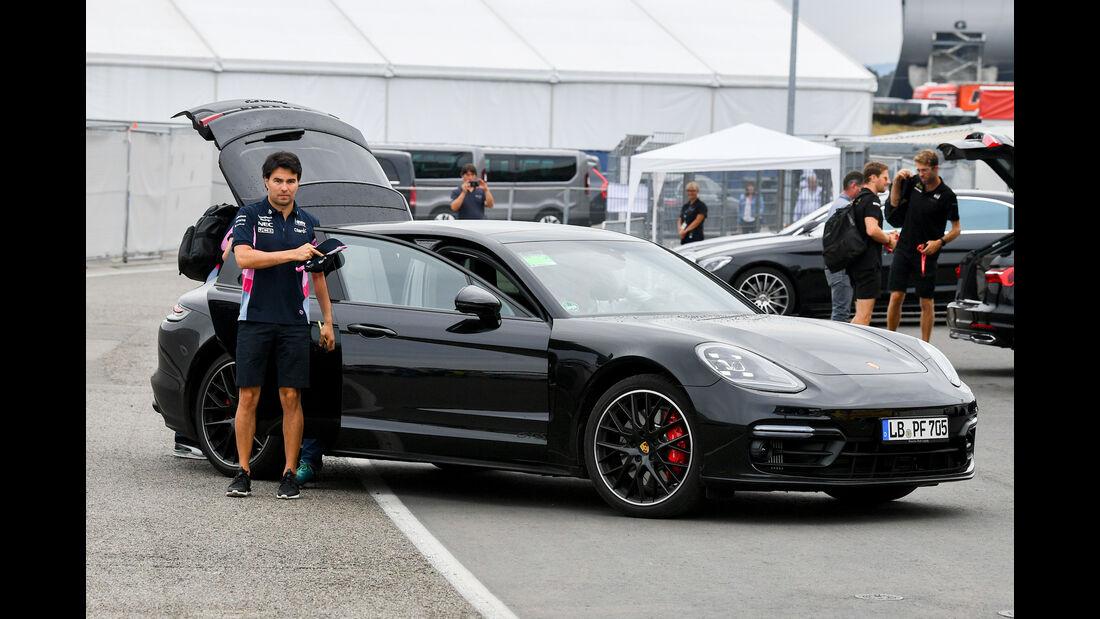 Porsche Panamera - Dienstwagen - F1-Piloten 2019