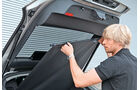 Porsche Panamera Diesel, Abdeckung, Kofferraum