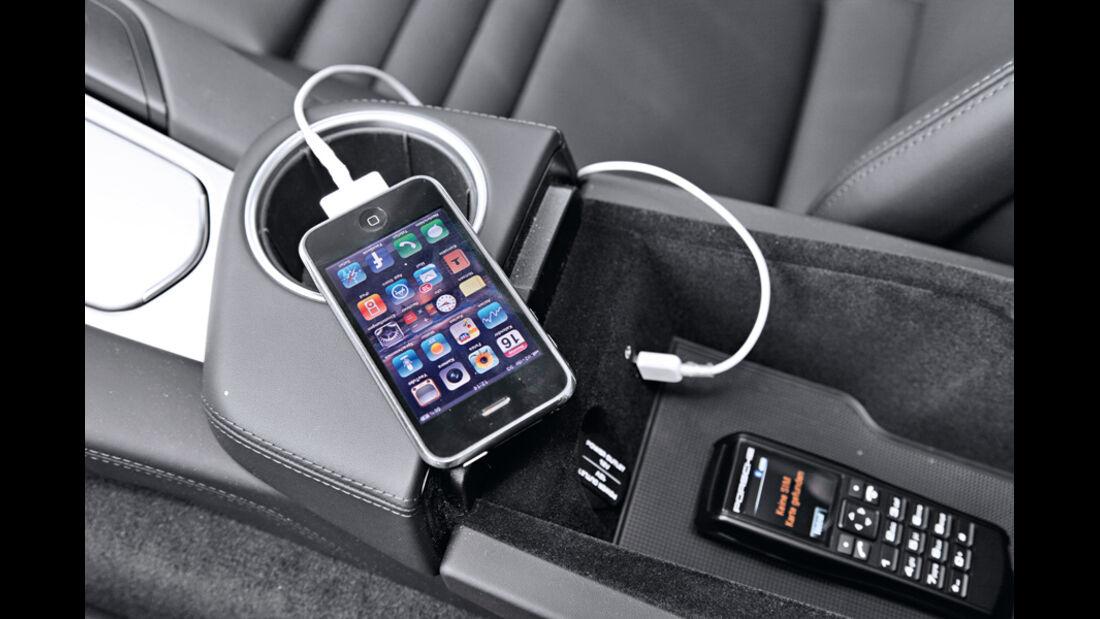 Porsche Panamera Diesel, Audio-Schnittstelle